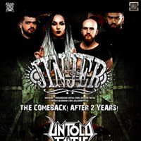 Concert Jinjer [UA]  Untold Faith  afterparty la SM at Poesis