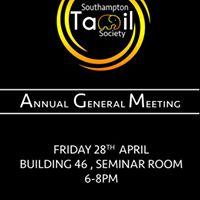 Southampton Tamil Society AGM 2017