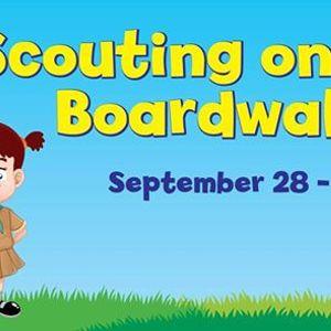 Scouting on the Boardwalk
