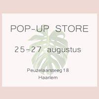 Pop- up store in Haarlem