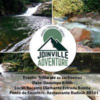 Trilha at as cachoeiras do Rio Pirabeiraba
