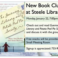 New Book Club at Steele