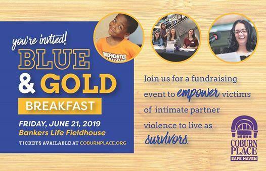 Blue & Gold Breakfast