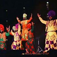 Stage di danze Bhangra  cena e festa indiana