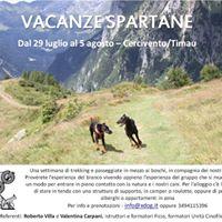 Vacanze Spartane 2017 - Dog Trekking