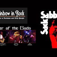 Rock Triple Header - Rainbow Sabbath and Zepplin tributes
