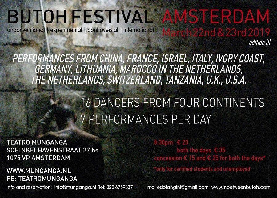 Butoh Festival Amsterdam