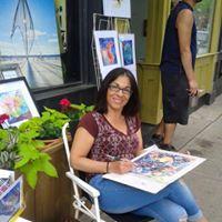 En plein air with Lena Montecalvo