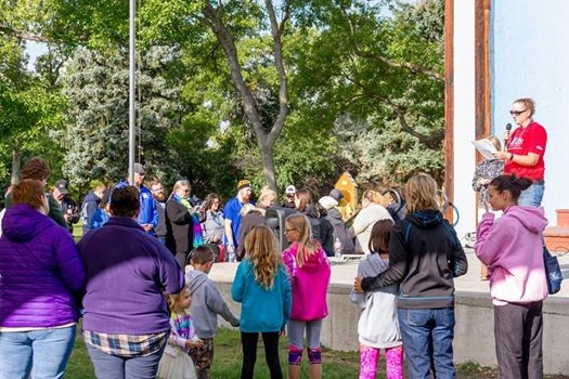2nd Annual Central Montana Out of the Darkness Walk