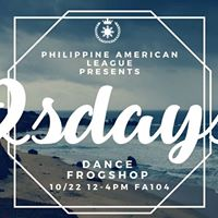PAL x 2sdays Dance Frogshops