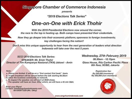 One-on-One with Erick Thohir