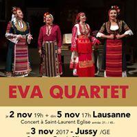 Eva Quartet (de Bulgarie) en concert