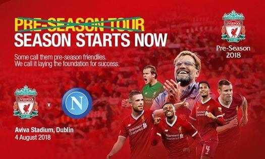 Liverpool vs Napoli ( Pre-Season )