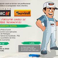 Treinamento Suvinil - Tintas MC Perube