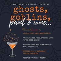 Ghosts Goblins &amp Paint Party