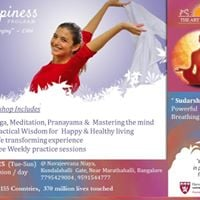 Happiness Program - Sudarshan Kriya