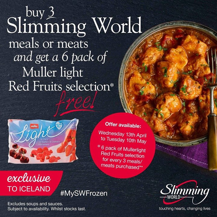 Iceland Huntingdon Special Event For Slimming World At