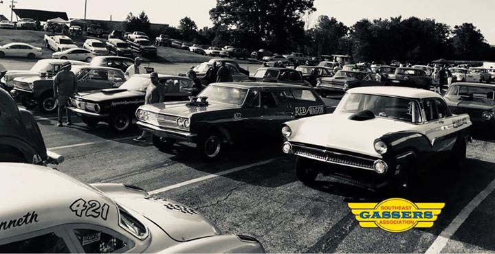 Southeast Gassers Association at Mountain Park Dragway, Clay City