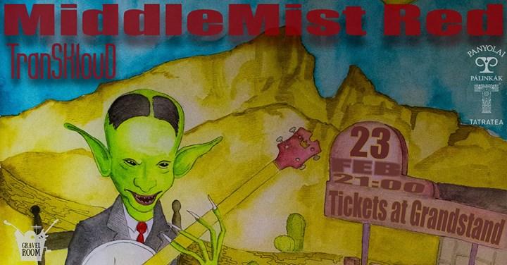 Middlemist Red (HUN)  psychedelic-rock  Gravel Room