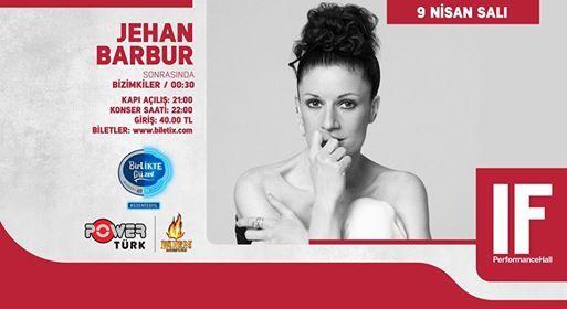 Jehan Barbur  IF Performance Hall