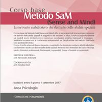 Metodo SaM (Sense and Mind) Intervento riabilitativo dei disturbi delle abilit spaziali