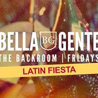 Latin Fiesta - The Backroom  Bella Gente - Friday 25th August