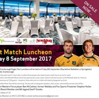 Annual Wests Scarborough Rugby Test Luncheon