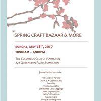 Spring Craft Bazaar &amp More