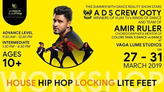 Dance Workshop by A D S Ooty Crew