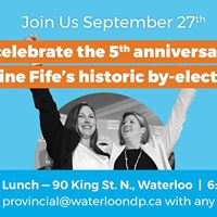 Catherine Fifes 5th Anniversary Party
