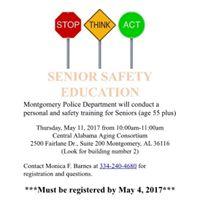 Senior Safety Education