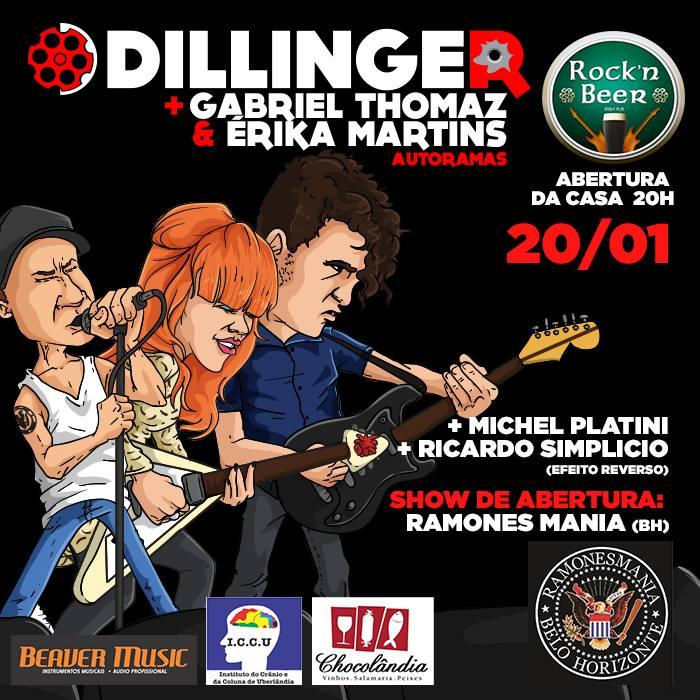 Dillinger  Gabriel & Erika Martins Autoramas Ramonesmania BH