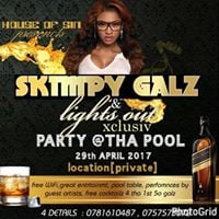 SKIMPY GALS and lights out xclusive private party