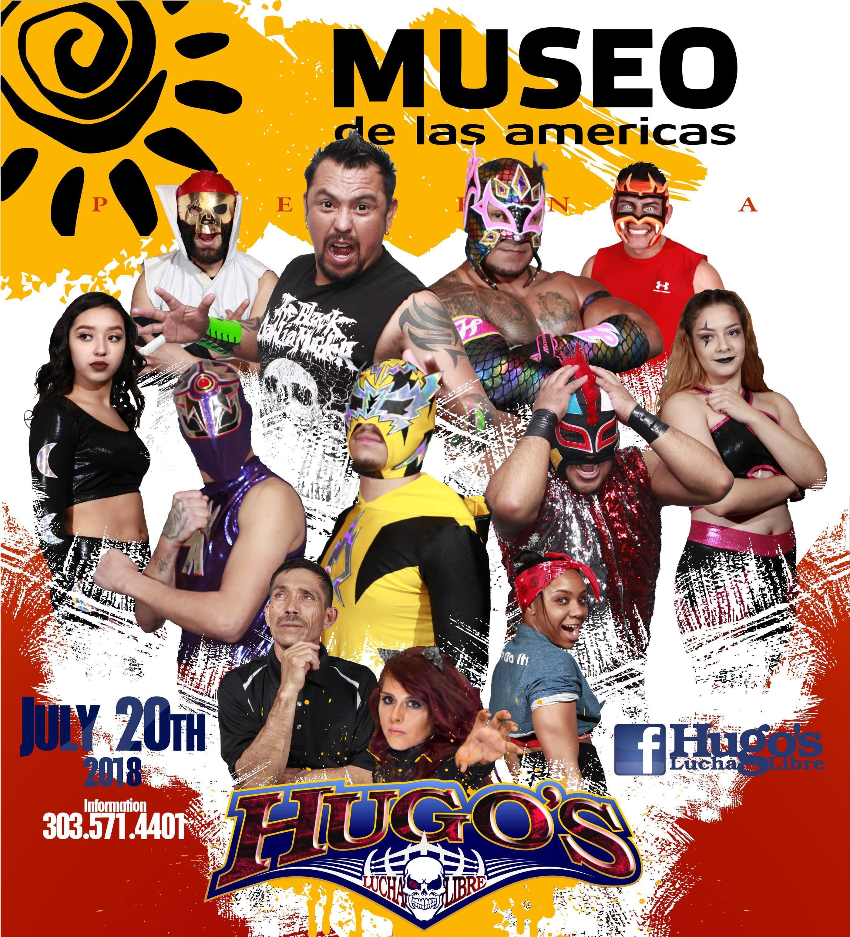 3rd Annual Lucha Libre Come to Win