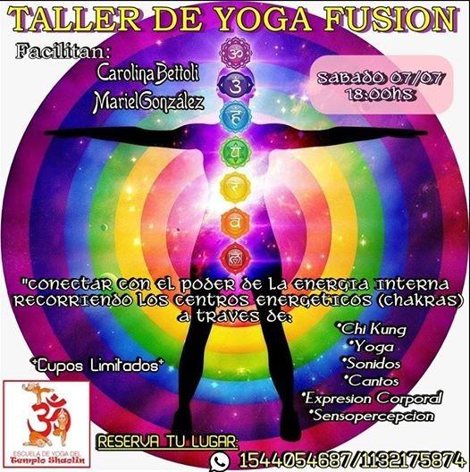 Taller de Yoga Fusion