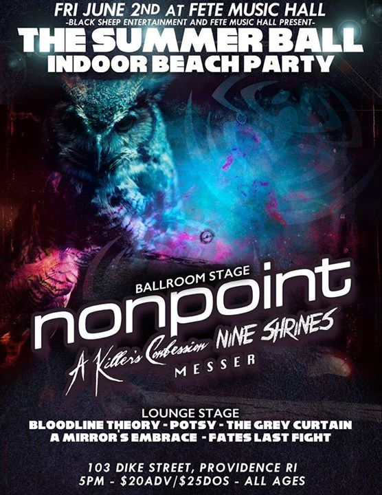 The Summer Ball Indoor Beach Party feat. Nonpoint
