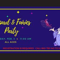 Wizards &amp Fairies Party