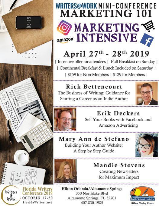 Mini-Conference: Marketing 101 at Hilton Orlando/Altamonte