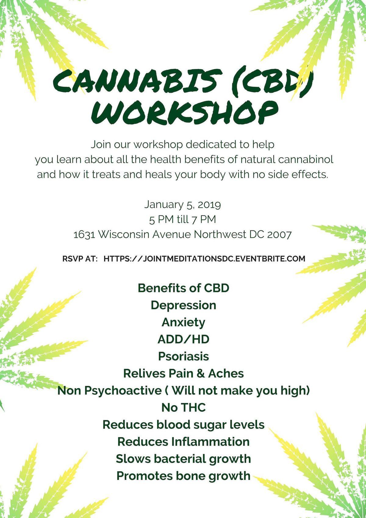 Hemp CBD Educational Workshop