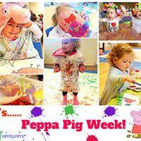 Peppa Pig Theme - ARTventurers Class for Babies to Children 5