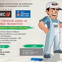 Treinamento Sherwin Williams na Tintas MC - Loja 29 - Bertioga