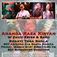 Ananda Rasa Kirtan with David Estes and Band
