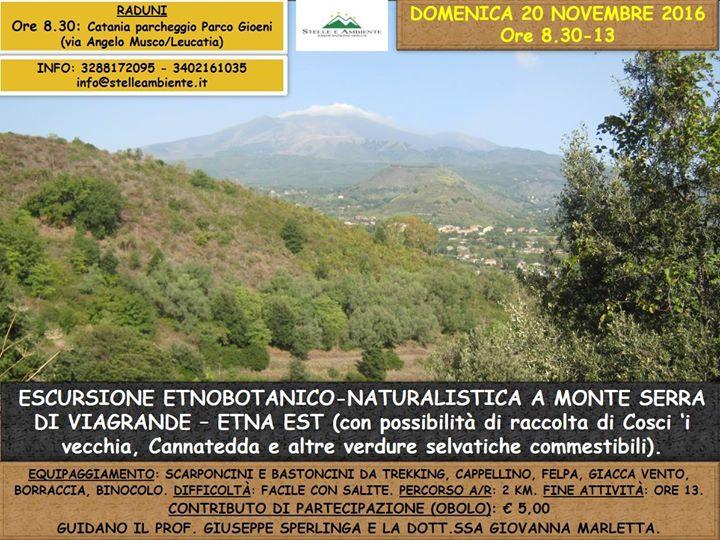 Escursione e ascesa al Monte Serra (Viagrande – Etna Est)