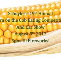 19th Annual Corn on the Cob Eating Competition and Car Show