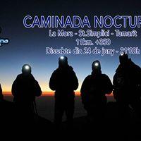 Caminada Nocturna La Mora - St.Simplici - Tamarit