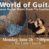 Concert A World of Guitar Peter Janson &amp Aaron Larget-Caplan