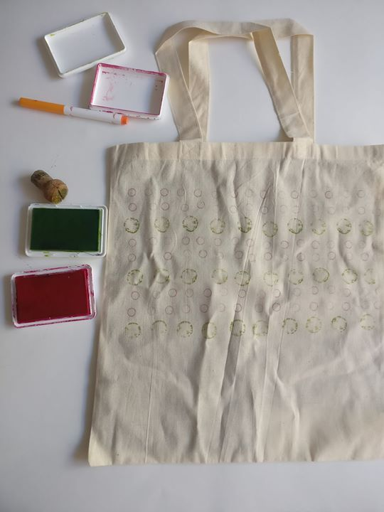 Block Printing on Tote bag at Brooklyn Brainery   Brooklyn
