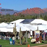 Vending at 27th Annual Sedona Arts Festival