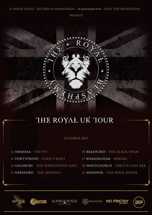 The Royal Blasphemy at The Rockhouse