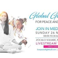 Live - Stream of Global Gathering for Peace and Healing
